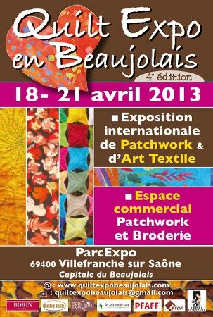 Quilt en Beaujolais