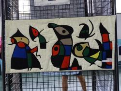 Les oiseaux - d'après Joan Mirò