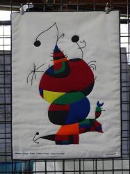 Hommage à Picasso - Femme, oiseau, étoile d'après Joan Mirò